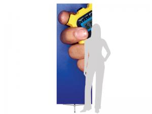 SPRINT Telescopic Banner Stand