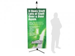 SUMMIT Telescopic Banner Stand