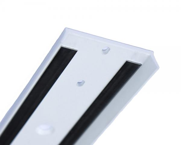 LUMIRAIL White -Aluminum Extrusion - close up