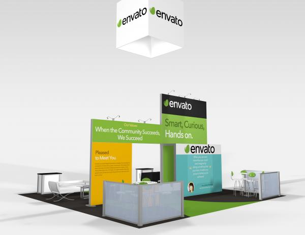 RE-9075 Envato Trade Show Rental Exhibit -- Image 4
