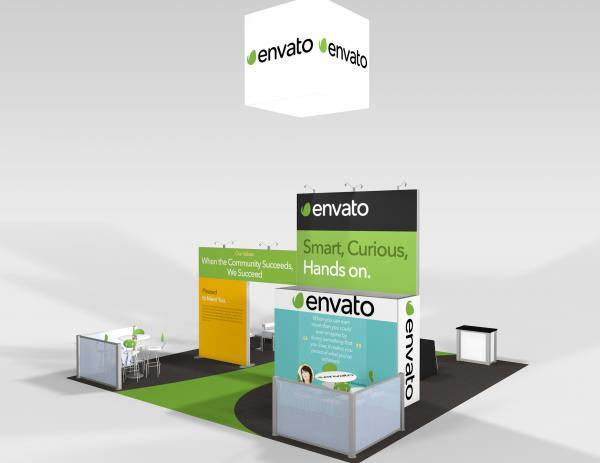 RE-9075 Envato Trade Show Rental Exhibit -- Image 6
