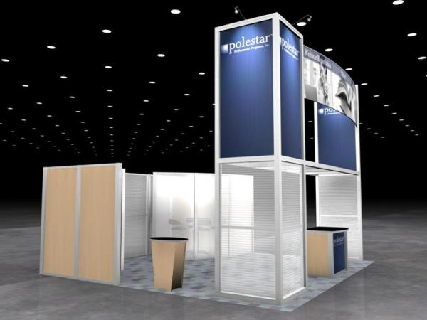 RE-9026 Rental Exhibit / 20� x 20� Island Trade Show Display � Image 7