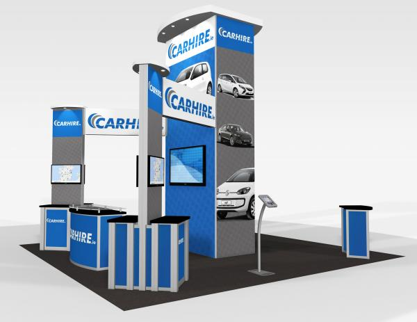 RE-9076 CarHire Trade Show Rental Exhibit -- Image 3