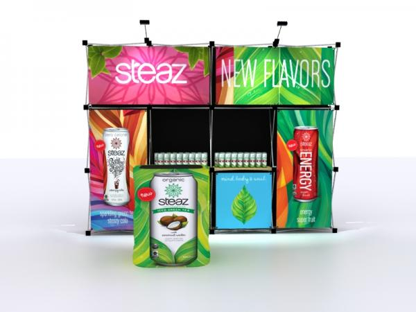 FG-124 Trade Show Pop Up Display