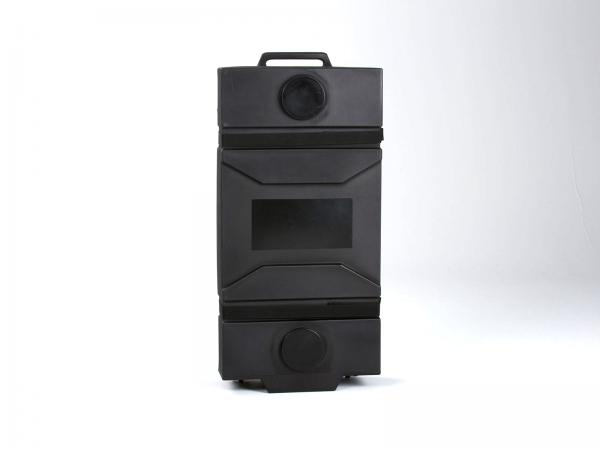 "OPTIONAL:  MOD-550 Portable Roto-molded Cases with Wheels (26"" W x 11"" D x 54"" H)"