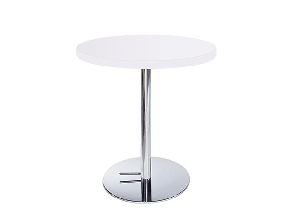Cafe Table with Hydraulic Base -- Trade Show Furniture Rental