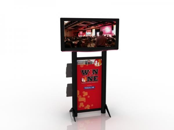 MOD-1405 Monitor Stand for Trade Shows or Events -- Image 1