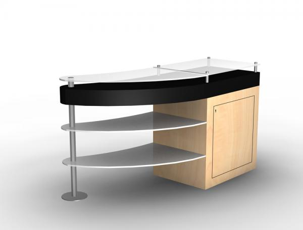 LTK-1136 Tradeshow Reception Counter