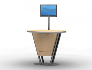 MOD-1180 Trade Show Workstation or Kiosk