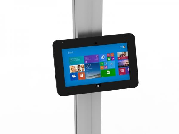 MOD-1317M Locking Surface 2 Enclosure with Extrusion Attachment -- Black