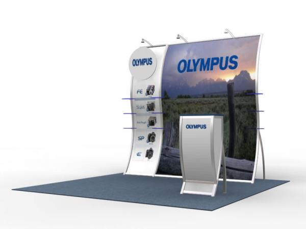 VK-1514 Perfect 10 Portable Hybrid Trade Show Display -- Image 2