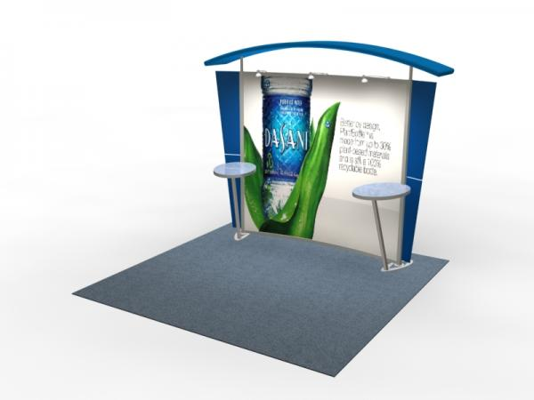 VK-1301 Trade Show Exhibit with Silicone Edge Graphics (SEG) -- Image 1