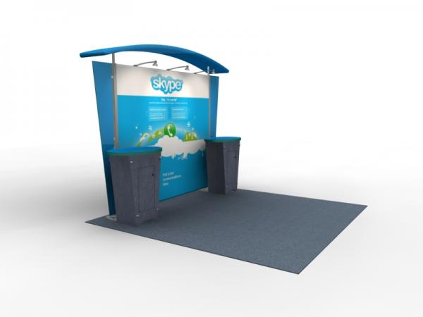 VK-1310 Trade Show Exhibit with Silicone Edge Graphics (SEG) -- Image 4