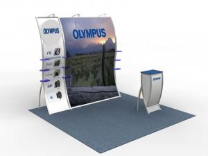 VK-1514 Perfect 10 Portable Hybrid Trade Show Display -- Image 1