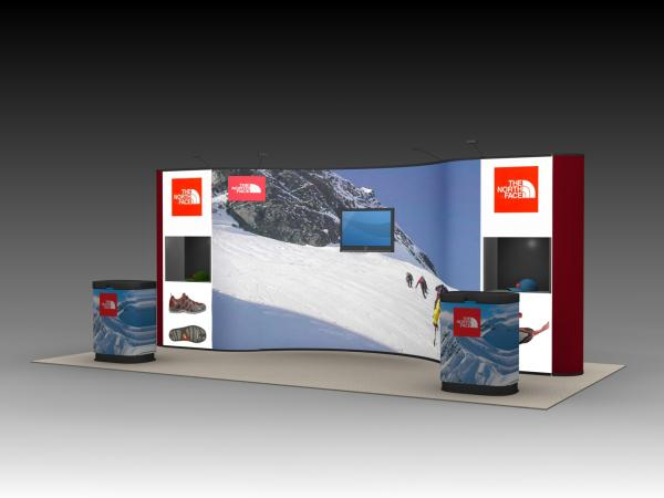 QD-222 Tradeshow Pop Up Display -- Image 2
