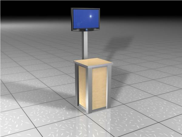 RE-1224 Rental Display Workstation / Kiosk -- Image 2