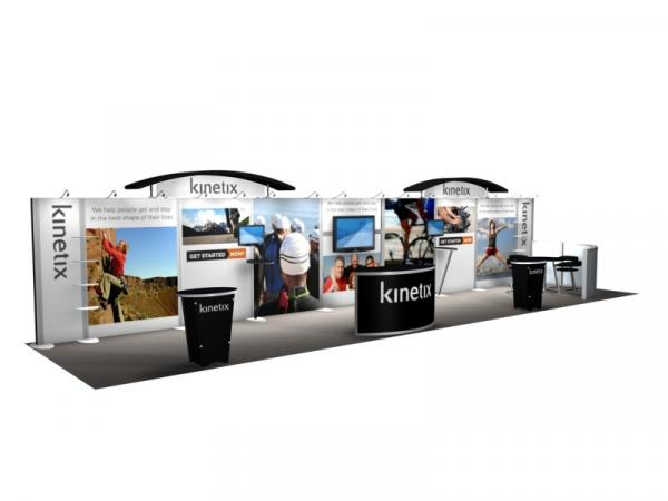 RE-4002 Rental Exhibit / 10� x 40� Inline Trade Show Display � Image 2
