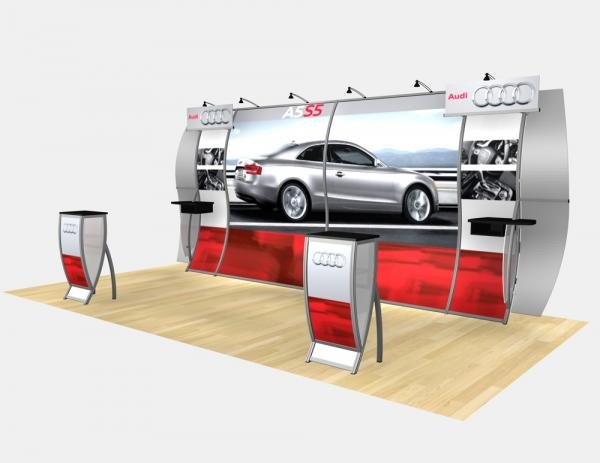 RE-2013 Rental Exhibit / 10� x 20� Inline Trade Show Display � Image 3